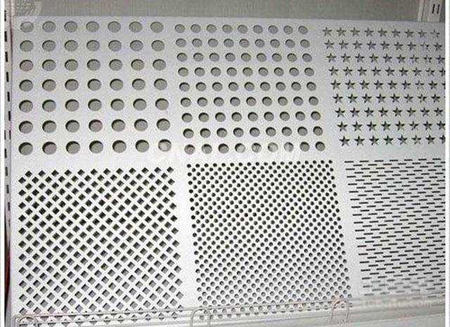不同孔型穿孔铝板样式